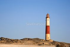 'Lighthouse on the Cliffs - Diaz Point, Namibia' Framed Print by SeeOneSoul Protective Packaging, Centerpiece Decorations, Custom Boxes, Framed Art Prints, Lighthouse, Image, Bell Rock Lighthouse, Light House, Lighthouses