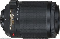 Nikon 55-200mm VR.  AF-S f/4-5.6G ED. Perfect for use on every DX digital Nikon. Great sports, nature and portrait lens; there's no need to pay more