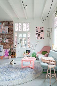 New Living Room, My New Room, Living Room Decor, Living Spaces, Bedroom Decor, Living Area, Dream Apartment, Apartment Living, Light Blue Sofa