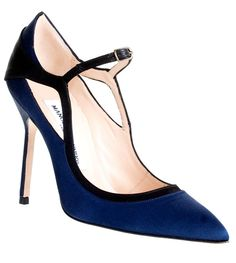 Manolo Blahnik Impore satin evening pump [thebest1711] - $209.00 : Discounted Christian Louboutin,Jimmy Choo,Valentino Shoes Online store