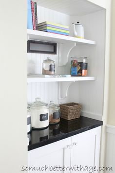 Beau Butler Pantry And Kitchen Office Updates. Turn A Closet Into ...