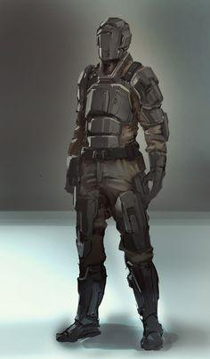 sci fi military armor - Google Search