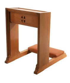 Hubby and I wouldn't mind a (pair of?!?) Solid Oak Mouseman Prayer Desk/Prie Dieu