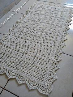 Best 12 Baby Pink and White Crochet Blanket /Open Weave Lace / Shower Gift / Girl Blanket / Cotton Yarn – SkillOfKing. Crochet Table Runner, Crochet Tablecloth, Crochet Doilies, Crochet Stars, Thread Crochet, Crochet Stitches, Crochet Rug Patterns, Stitch Patterns, Filet Crochet