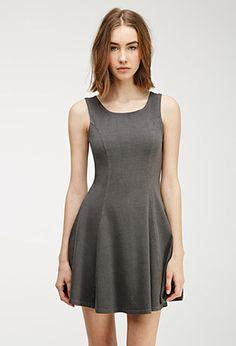 Stretch-Knit Skater Dress | FOREVER21 - 2000116387