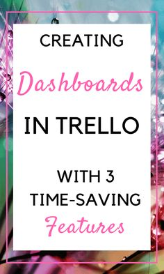 At some point in time you'll need a system for your Trello boards. An easily navigational dashboard for all the boards is perhaps the most powerful add-on ever for Trello. - In this article, I am sharing 3 features you can implement quickly to create your own dashboard within Trello. #Trello #dashboard #workflows #automation #cross-board