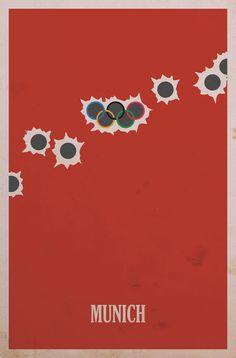 minimalist movie poster art from designer BrickHut.