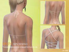 Bikini sun marks by S-Club WM at TSR via Sims 4 Updates