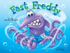 """Book Title: Fast Freddy Author: Lee Ann Mancini Genre: Children, Friendship, Publisher: GLM Publishing Published Date: April 9, 2015 (28 Pages, Paperback) ISBN: 9780578140766 Disclaimer: I received a complimentary copy of this book from the publisher through the BookCrash.com for an honesty review Description: Fast Freddy is one of the sea kids that live in the """"coralhood."""" Fast Freddy overcomes the ridicule of being different (half shark, half octopus) from the other kids in his new school…"""