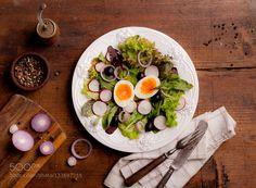 salad with egg - Pinned by Mak Khalaf Food deliciousdietfoodfreshgreenhealthhealthynaturalrawsaladsummertastyvegetablevegetarianwhite by legat