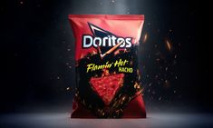 Frito Lay just made a chip for when you can't decide between Flamin' Hot Cheetos and Nacho Cheese Doritos. Doritos, Nacho Chips, Tortilla Chips, Cheetos, Nachos, Tortilla Chip Brands, Frito Lay, Candy Brands, Alcohol