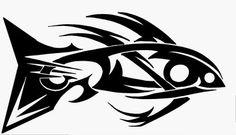 fish tattoo tribal style by ~KEArnold on deviantART