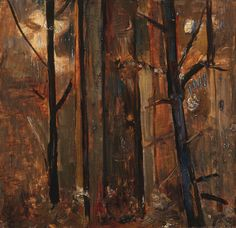 Fred Williams: Forest trees 1959