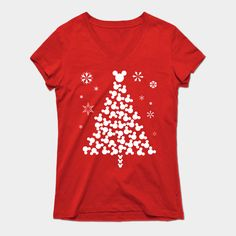 How To Shop: 10 Disney Christmas Tee Shirts - Christmas T Shirt - Ideas of Christmas T Shirt - Official Disney merchandise is great but some of the best Christmas tee-shirts I have seen are created by Disney fans like you and me! Disney Vacation Shirts, Disney Tees, Disney Christmas Shirts, Christmas Shopping, Diy Christmas, Christmas Girls, Disney T-shirts, Disney Cruise, Tee T Shirt