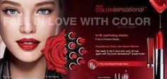 ColorSensational Print  Lip Ad - Spread 2009