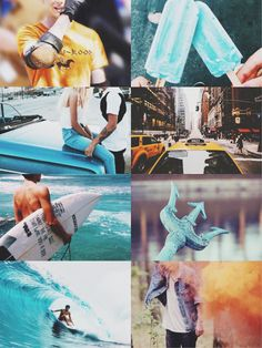 Percy Jackson.    Nico: Since your the son of Posiden can you surf good?   Percy: Geez Nico I've never tried.