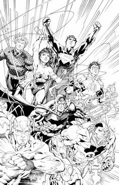 JUSTICE LEAGUE: AN ADULT COLORING BOOK TP