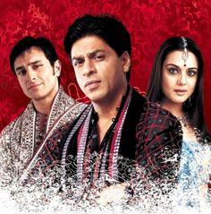 Saif Ali Khan as Rohit Patel, Shah Rukh as Aman Mathur, and Preity Zinta as Naina Catherine Kapur.