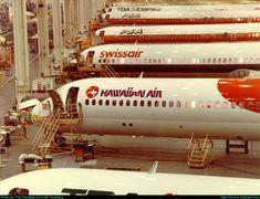 McDonnell Douglas MD-8x (DC-9-8...)  Long Beach - Daugherty Field (LGB / KLGB) USA - California, Early 1980's