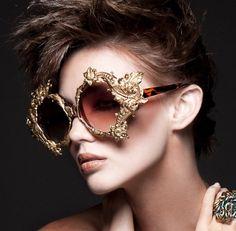 Collectors Love Love Love MERCURA NYC Eyewear & Bo: ICON Magazine Spring 2011 , Mercura NYC styled by Apuje Kalu