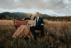 This Red Rocks Canyon Engagement is Filled with Copper Hues