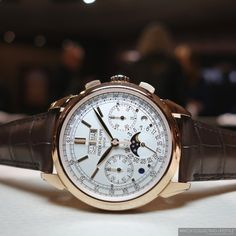 Baselworld 2015: Introducing the Patek Philippe ref. 5270 in 18K Rose Gold. Live Pictures and Pricing of the Quintessential Perpetual Calendar Chronograph. — WATCH COLLECTING LIFESTYLE