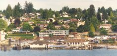 Steilacoom, WA.  My second favorite place to live.
