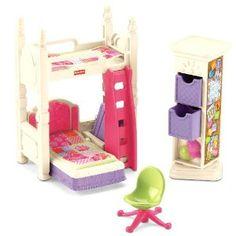 Fisher Price Loving Family Deluxe Decor Kids Bedroom