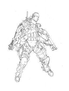 Clement Sauve - character design Comic Art