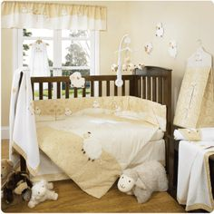 I would LOVE to do a sheep/lamb nursery theme for my babies!