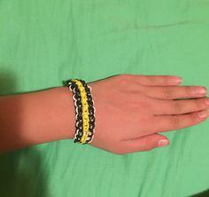 The triple single bracelet