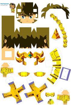 Toy Art, 3d Paper, Paper Toys, Gundam Papercraft, 3d Templates, Diy And Crafts, Paper Crafts, Craft Images, 3d Origami