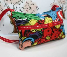 Avengers tooth fairy pillow