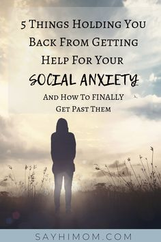 How to take the step to get help for social anxiety when you are nervous or scared. Getting help gets you on the road to recovery. #socialanxiety #helpforanxiety #anxietytips