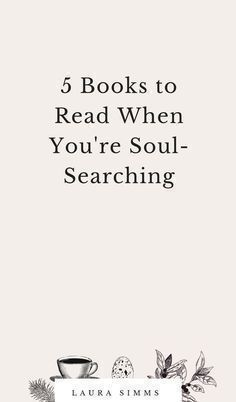 5 Books to Read When You're Soul-Searching - Bücher - Livros Book Club Books, Book Nerd, My Books, Quotes On Reading Books, Good Books To Read, Quote Books, Free Books, Reading Lists, Book Lists