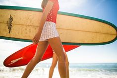 J Crew On Film: Pretty Swell. Women Surfers Design Their Own Women's Line Pret‐à‐Surf and Partner with J. Crew