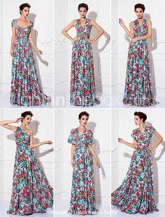 ПЛАТЬЕ-ТРАНСФОРМЕР НА ВЫПУСКНОЙ. Купить цветочное платье-трансформер на выпускной со скидкой до 80% — http://fas.st/1xLBz