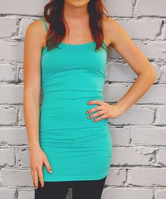 Mint Extra-Long Camisole - Plus #zulily #zulilyfinds