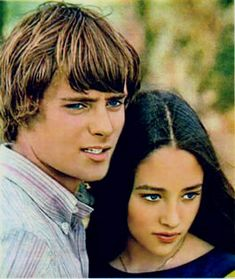 Photo of Leonard Whiting & Olivia Hussey for fans of 1968 Romeo and Juliet by Franco Zeffirelli. Assorted Photos of Leonard Whiting & Olivia Hussey. Either when they were Dating, on Set Locations, or a variety of Places.