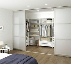 Wardrobe Design Bedroom, Bedroom Closet Design, Bedroom Wardrobe, Room Ideas Bedroom, Home Room Design, Wardrobe Door Designs, Closet Designs, Walk In Closet Design, Dressing Room Design