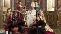Los Borgia. La serie está basada en la familia Borgia (originalmente Borja), una dinastía italiana de origen valenciano, conformada por el papa Alejandro VI y Vannozza de Cattanei, junto a sus hijos César, Lucrecia, Juan y Gioffre Borgia.