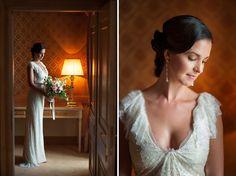 Bride in Castello di Morcote, Lugano, Switzerland