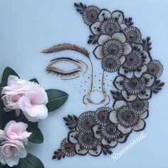 36 ideas for nature design drawing sketchbook ideas Simple Mehndi Designs, Henna Tattoo Designs, Bridal Mehndi Designs, Bridal Henna, Mehndi Design Pictures, Mehndi Images, Mehndi Tattoo, Henna Mehndi, Peacock Mehndi