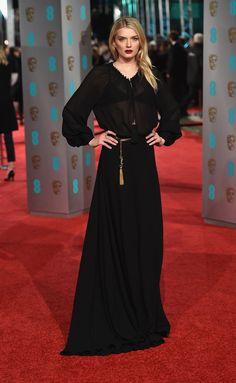 Lily Donaldson in Saint Laurent   - HarpersBAZAAR.co.uk