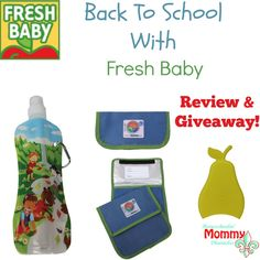 Pack a healthy back to school lunch! Giveaway and review!