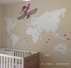 Vinilos infantiles personalizados Archivos - Página 3 de 3 - stencilbarcelona.com