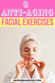 For women I have 8 anti aging facial exercises which I like to do for 10-15 mins a day and I have seen my face skin feeling fresh and my skin is glowing. Facial Yoga, Facial Muscles, Anti Aging Facial, Best Anti Aging, Lose Thigh Fat Fast, Surprise Face, Facial Exercises, Double Chin, Sagging Skin