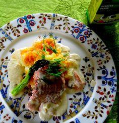 Kodin Kuvalehti – Blogit   Keittiömestaripäivä – Keittiömestariaterialla punaista ja valkoista pillimehua läpi aterian. Uunilohi
