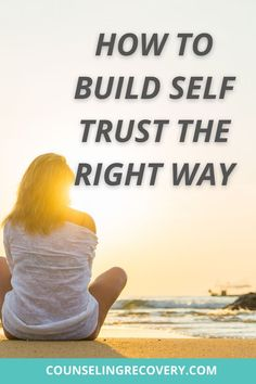 You can't have self-esteem without self-trust. They go hand in hand because when you can't trust yourself it's hard to make good decisions and have healthy. loving relationships. When it comes to our recovery, you need to be able to trust your own perceptions and how to follow and cultivate your own intuition. #trust #selftrust #intuition #recovery #selflove #selfesteem #selfworth Relationship Problems, Relationships Love, Healthy Relationships, Self Esteem Activities, Codependency Recovery, Relapse Prevention, Coping With Stress, Improve Mental Health, Addiction Recovery