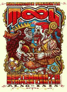 TOOL & ISIS Concert Poster by Michael Michael Motorcycle